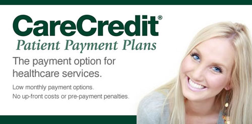 CareCredit® Healthcare Financing: We offer flexible payment options / So you can get the care you want or need